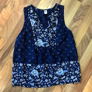 Old Navy • Floral Sleeveless Top